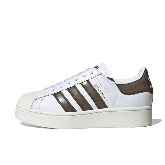 adidas Superstar Bold 'White/Bronze'