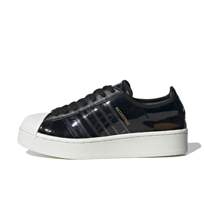 adidas Superstar Bold 'Patent Black'