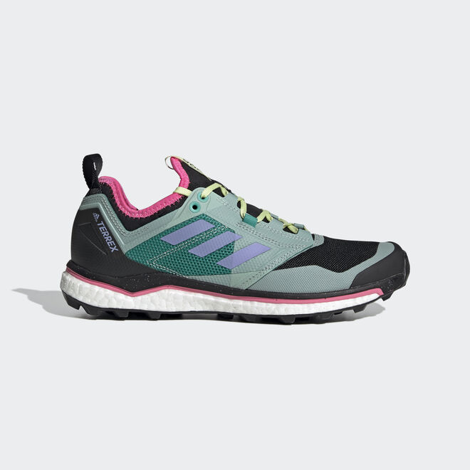 adidas Terrex Agravic XT W Core Black/ Light Purple/ Glow Green