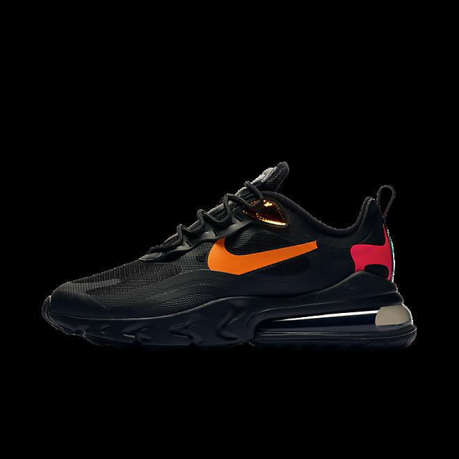 Nike Air Max 270 React 'Magma Orange' zijaanzicht