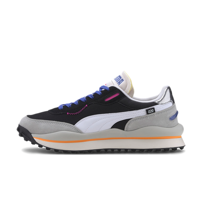 Puma Style Rider Play On 'Gray Violet' zijaanzicht