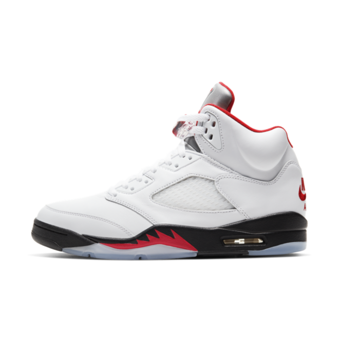 Air Jordan 5 Retro 'Fire Red' zijaanzicht
