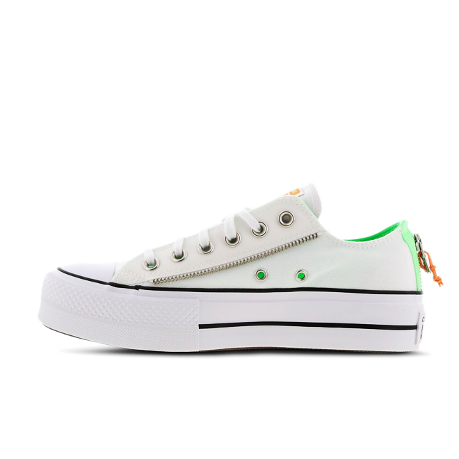 Converse Chuck Taylor Platform Low 'Illusion Green'