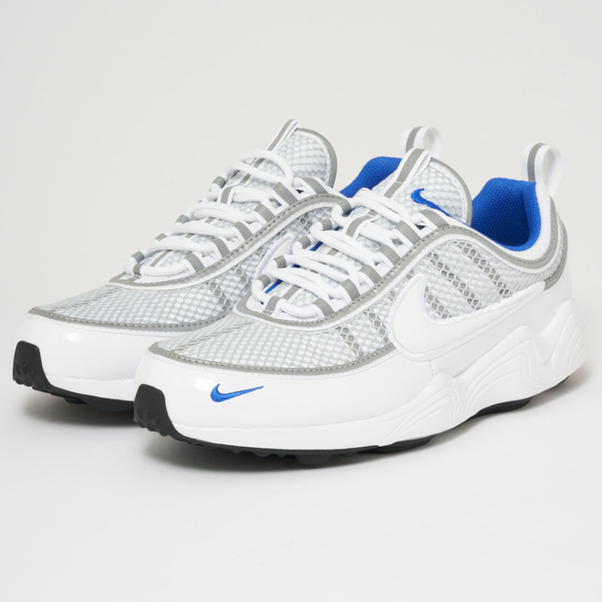 Air Zoom Spiridon '16 - White, Pure Platinum & Racer Blue