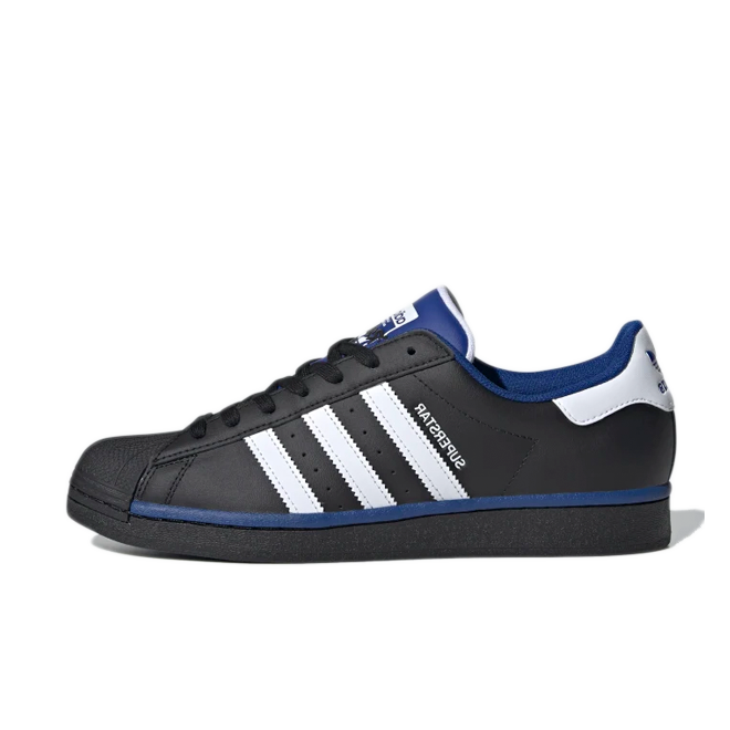 adidas Superstar 'Black/Blue' FV4190