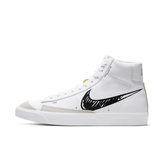Nike Blazer Mid 77 Sketch 'Black'