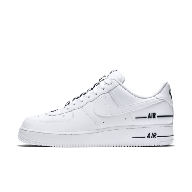 Nike Air Force 1 '07 'Double Air' zijaanzicht