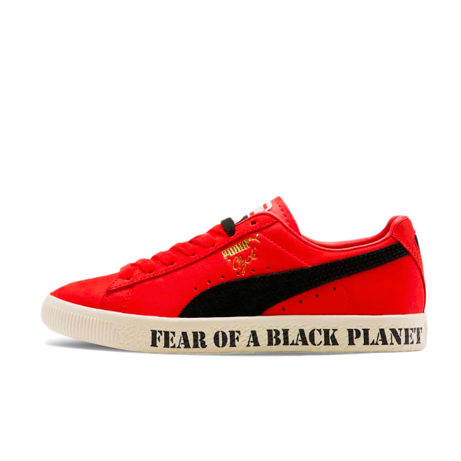 Public Enemy X Puma Clyde 'Fear of a Black Planet' zijaanzicht