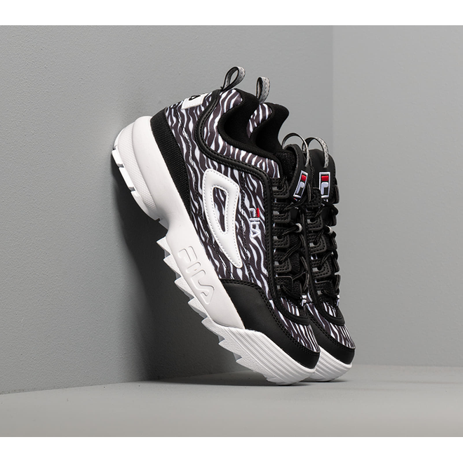 Fila Disruptor Animal WMN Zebra/ Black