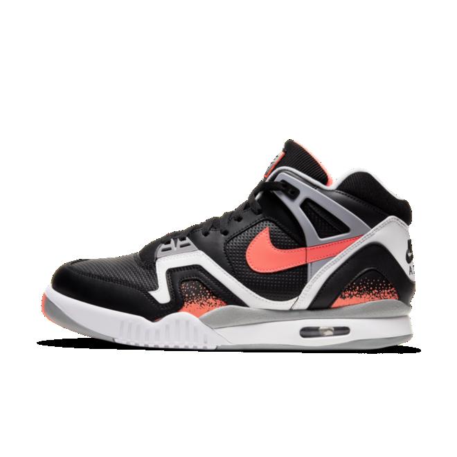 Nike Air Tech Challange 2 'Black Lava' zijaanzicht