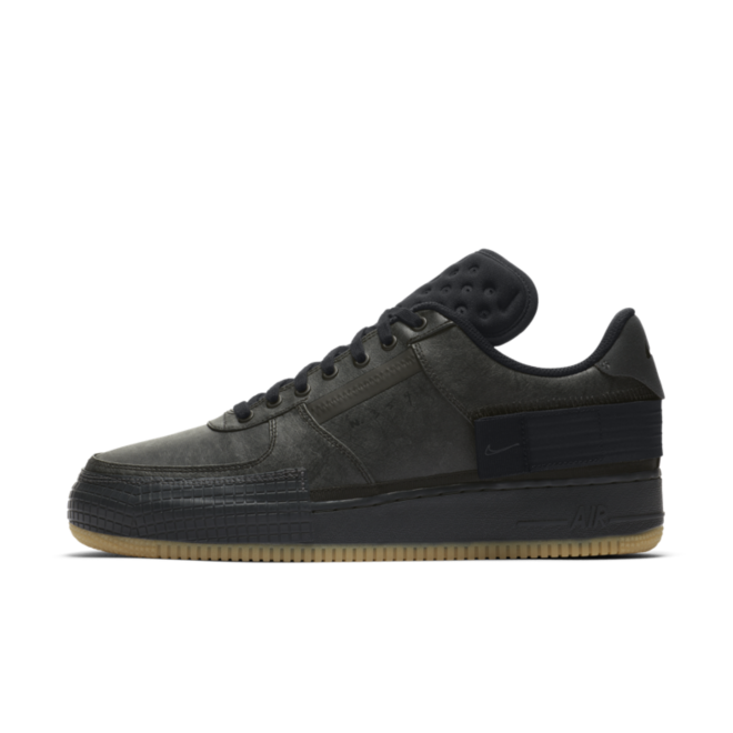 Nike Air Force 1 Type 'Black/Gum'
