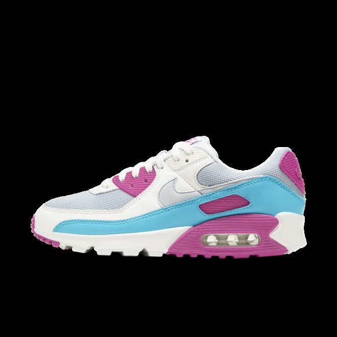 Nike Air Max 90 'Fire Pink' zijaanzicht
