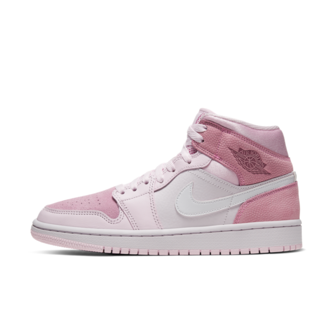 Air Jordan 1 WMNS Mid 'Digital Pink' | CW5379-600