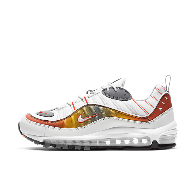 Nike Air Max 98 SE 'Team Orange' zijaanzicht