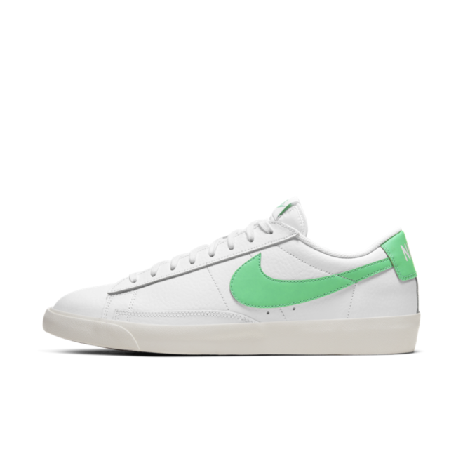Nike Blazer Low Leather 'Green Swoosh'