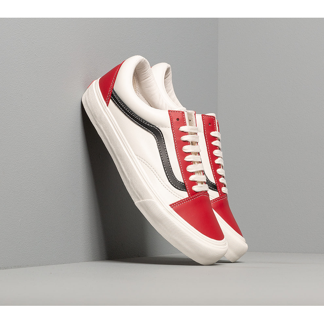 Vans Old Skool Vlt LX (Leather) Chilli Pepper/ Black