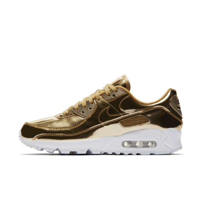 Nike Air Max 90 Metallic Pack 'Gold' zijaanzicht