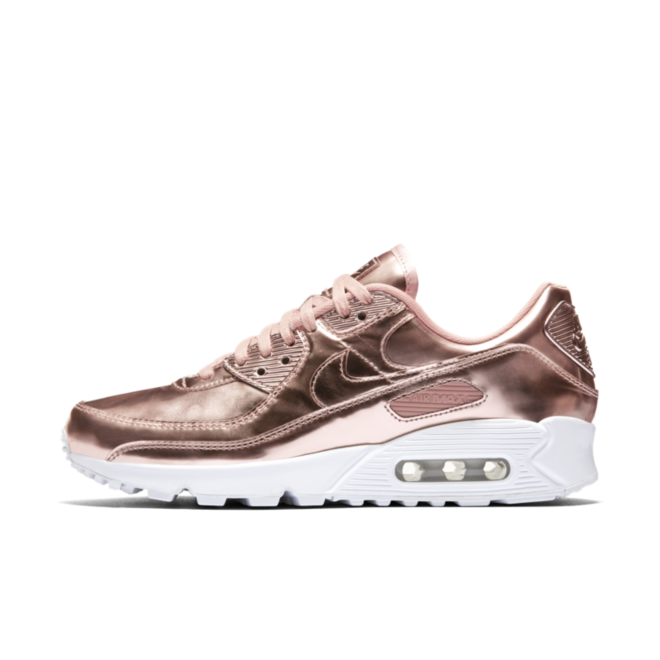 Nike Air Max 90 Metallic Pack 'Bronze' zijaanzicht