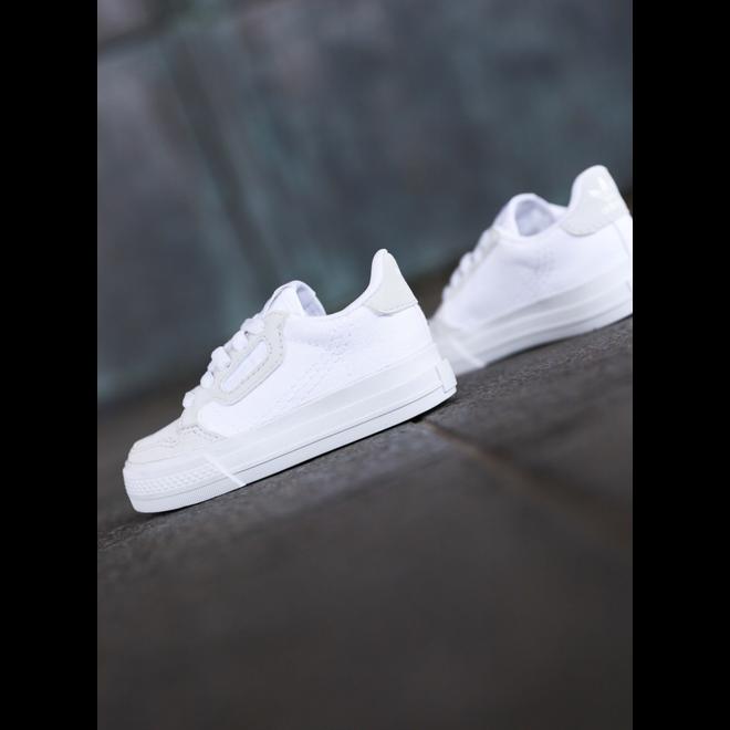 Adidas Continental Vulc White/White TS