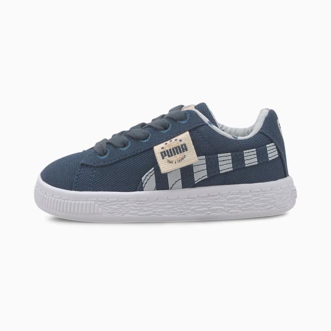 Puma Basket Canvas T4C Sportschoenen Voor Baby%E2%80%99S