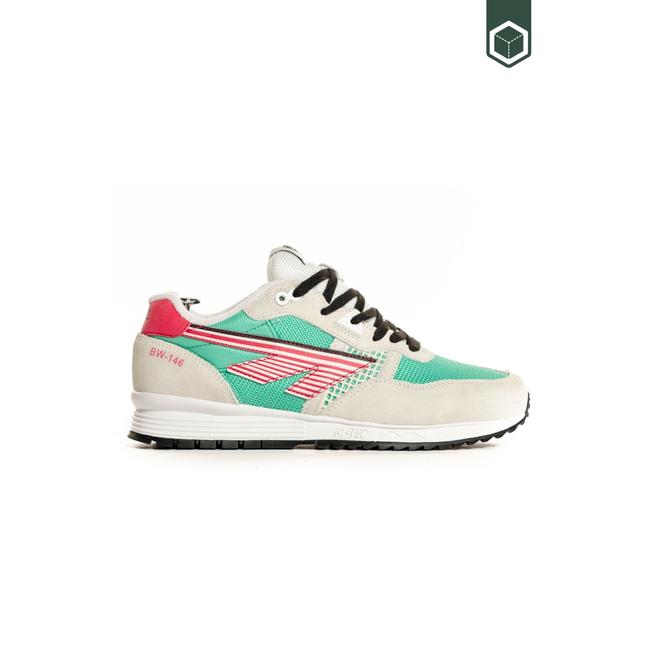 Hi-Tec BW 146 Cotton/Evergreen/Pink