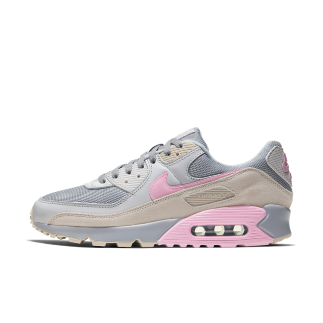Nike Air Max 90 'Grey/Pink' CW7483-001