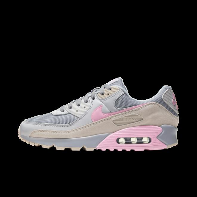 Nike Air Max 90 'Grey/Pink' zijaanzicht