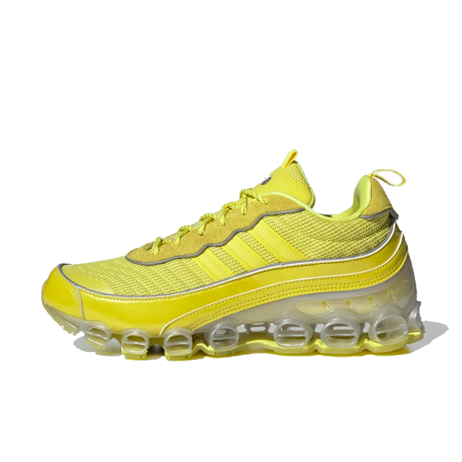 adidas Microbounce T1 'Shock Yellow' zijaanzicht