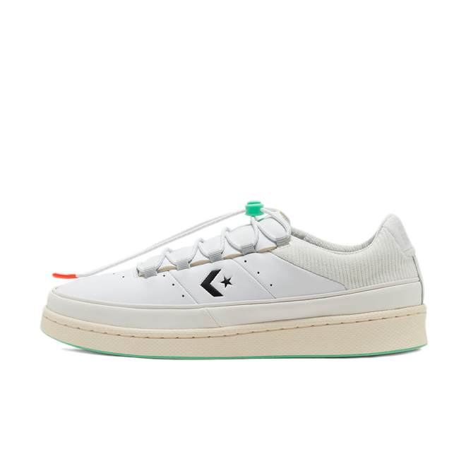 Converse Pro Leather Low 1980's 'White' zijaanzicht