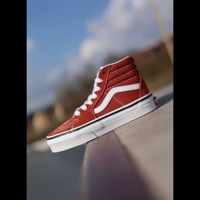 Vans Sk8-hi picante-red/white PS