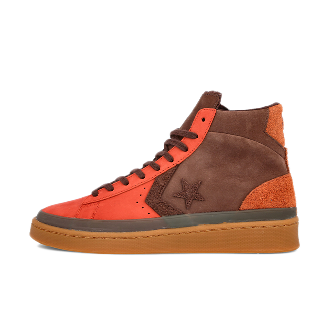 Converse Pro Leather Hi 'Fiery Scarlet'