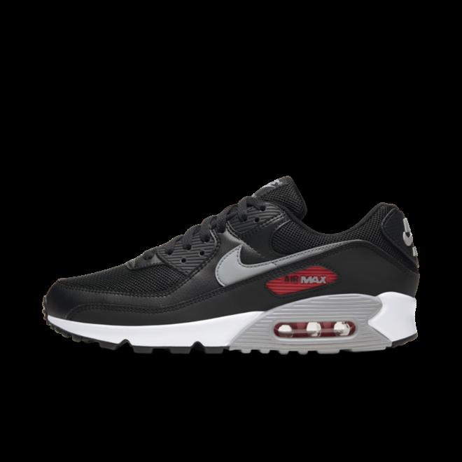 Nike Air Max 90 Premium 'Bred' zijaanzicht