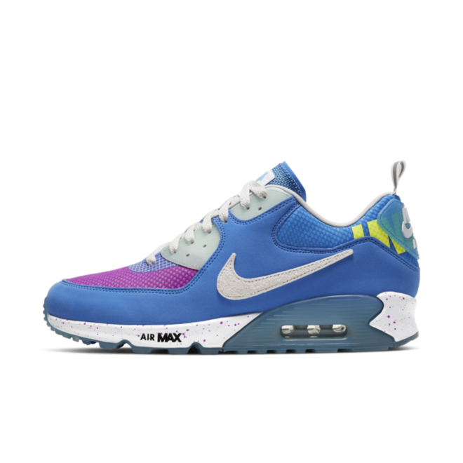 Undefeated X Nike Air Max 90 'Pacific Blue' CQ2289-400
