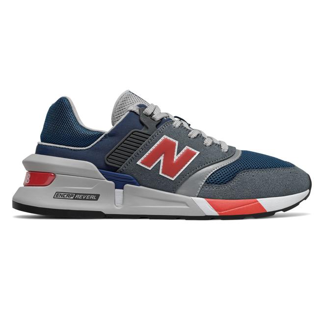 New Balance 997 Gray/ Red