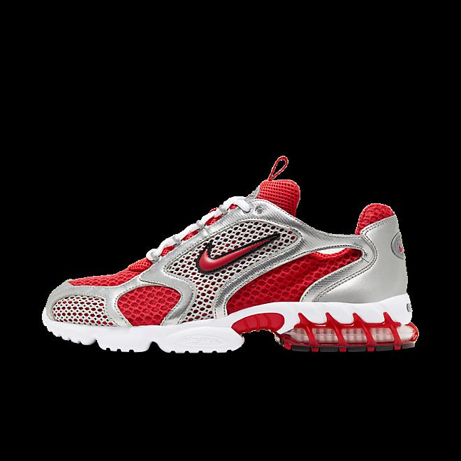 Nike Air Zoom Spiridon Cage 'Varsity Red' zijaanzicht