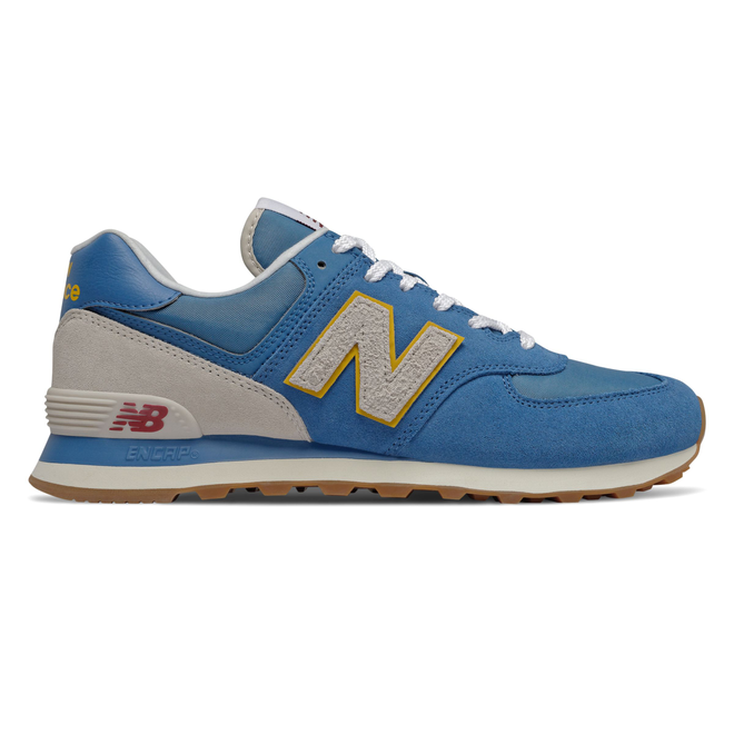New Balance 574 Blue/ Beige