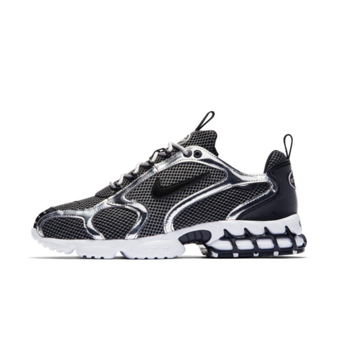 Stussy X Nike Air Zoom Spiridon Cage 'Black' - SNKRS DAY Exclusive Access zijaanzicht
