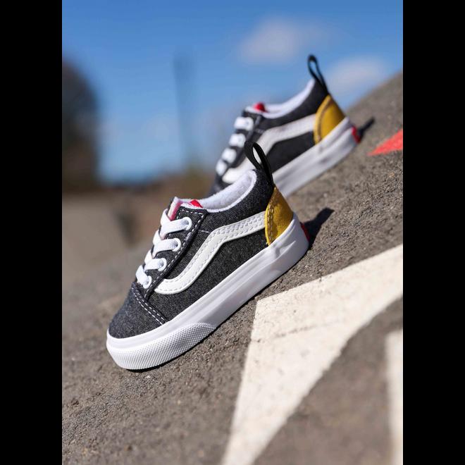 Vans Old skool elastic Dark Grey/Red/Yellow TS