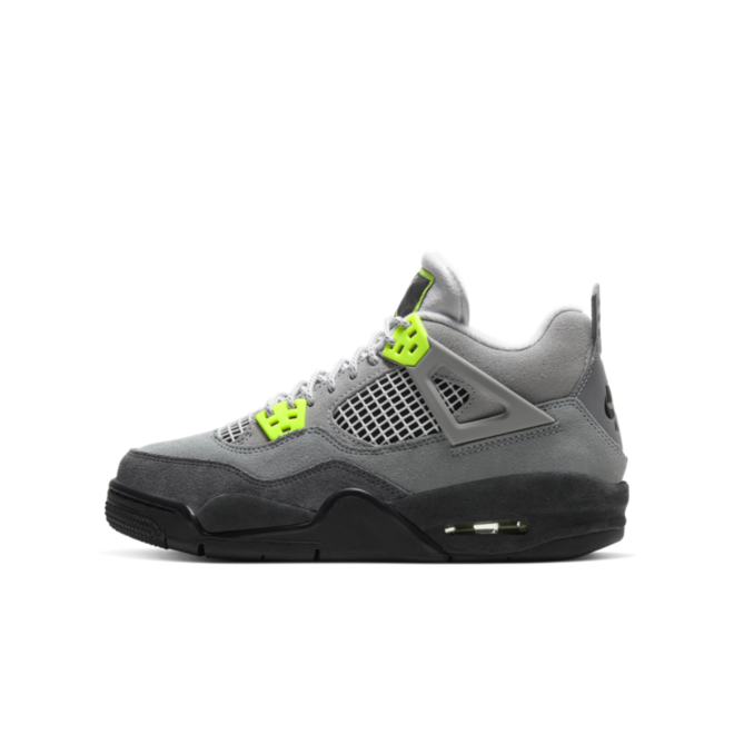 Air Jordan 4 Retro SE GS 'Neon'