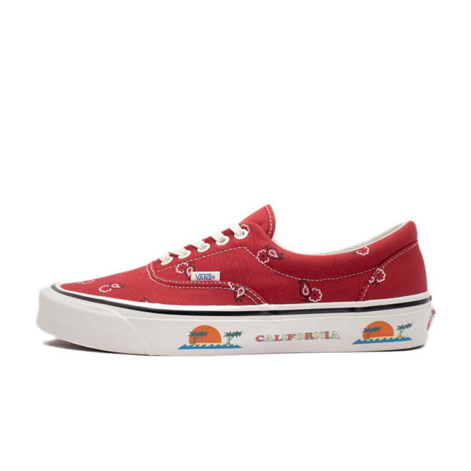 Vans OG Era LX California 'Pompeian Red'