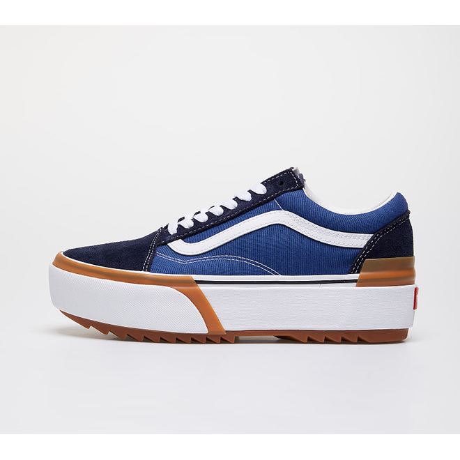Vans Old Skool Stacked Navy/ True White