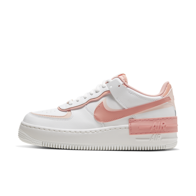 Nike Air Force 1 Shadow 'White/Pink' | CJ1641-101