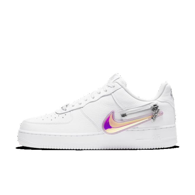 Nike Air Force 1 Zipper Swoosh 'White' CW6558-100