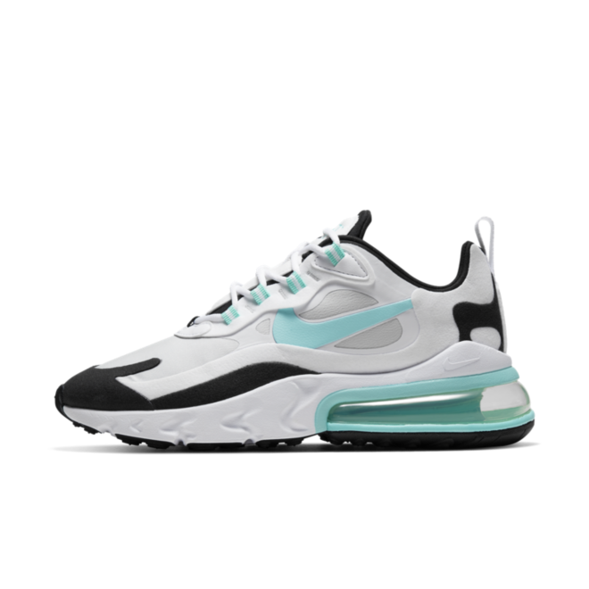 Nike Air Max 270 React 'Aurora Green' zijaanzicht