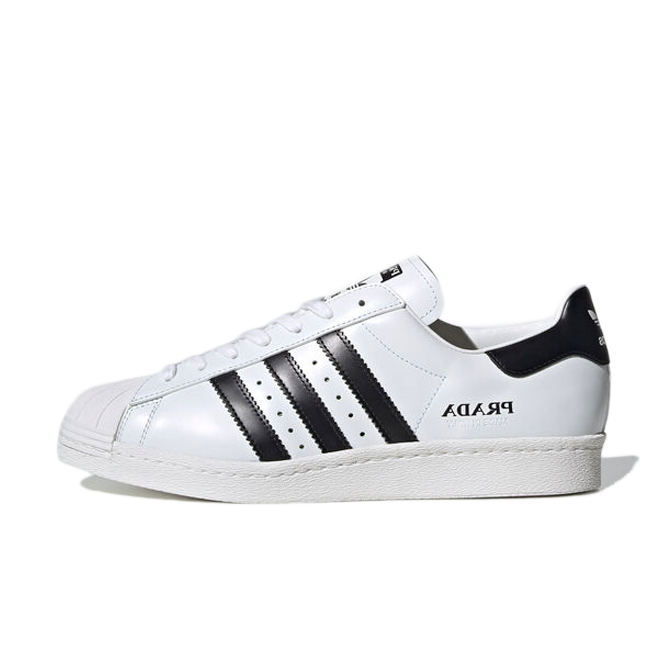 Prada X adidas Superstar 'White/Black' FW6680