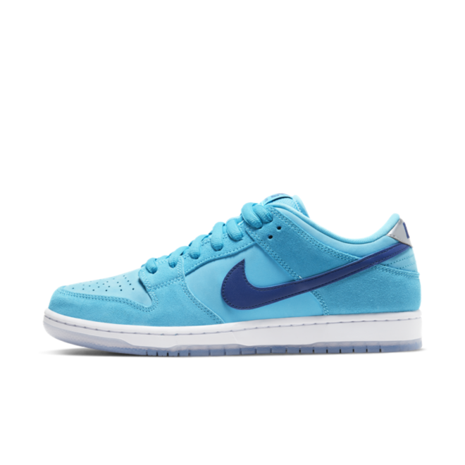 Nike SB Dunk Low 'Blue Fury' zijaanzicht
