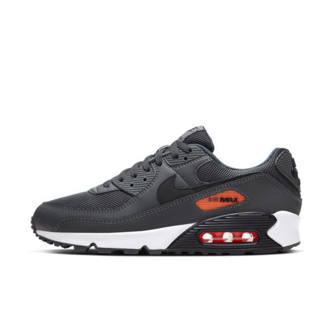 Nike Air Max 90 'Iron Grey' zijaanzicht