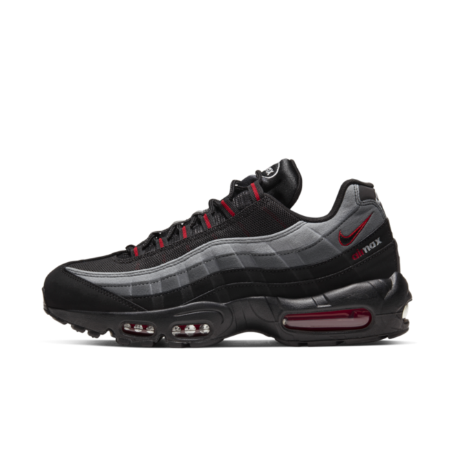 Nike Air Max 95 'Black/Red' zijaanzicht