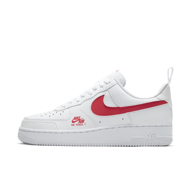 Nike Air Force 1 LV8 'White' zijaanzicht