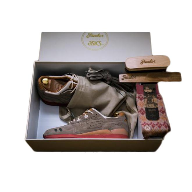 "ASICS Gel-Lyte III Packer Shoes ""Dirty Buck"" (Special Box)"